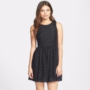 French Connection 'Polka Sparks' Mini Dress